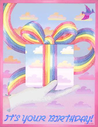 rainbow gift